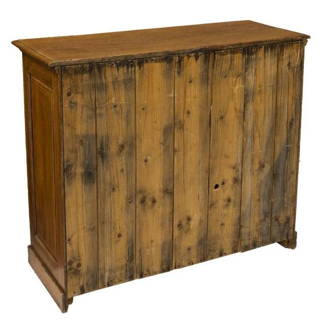 American Golden Oak Storage Cabinet For Sale - Image 4 of 5
