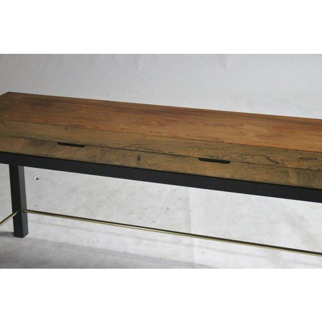 Rosewood Console Chest For Sale In Chicago - Image 6 of 7
