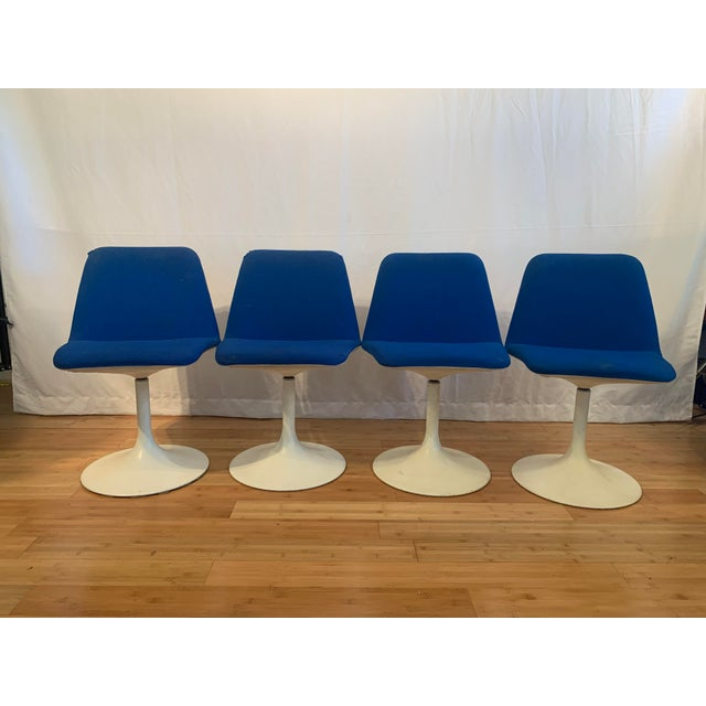 1960s Vintage Borje Johanson Swivel Chairs- Set of 4 For Sale - Image 10 of 10