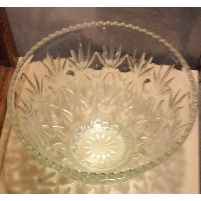 Crystal Punch Bowl - Image 4 of 6