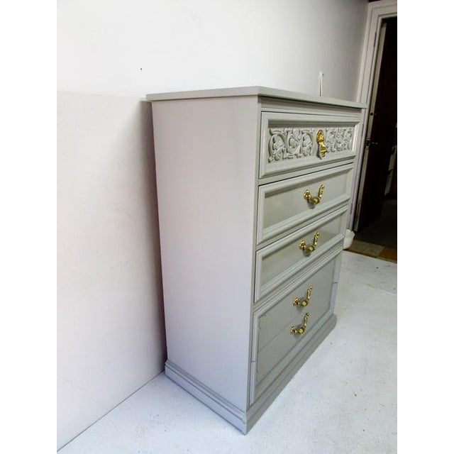 Dixie Mid Century Chest of Drawers For Sale - Image 5 of 8