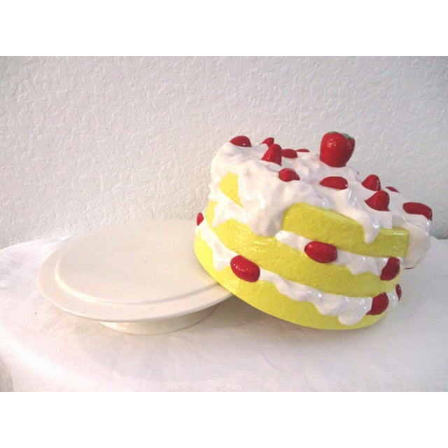 Vintage Strawberry Shortcake Cake Plate For Sale In West Palm - Image 6 of 8