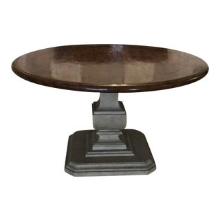 Traditional Holly Hunt Entrance Table For Sale