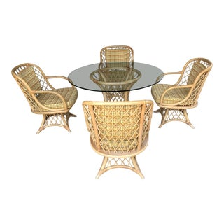 Willow & Reed Patio Dining Set For Sale