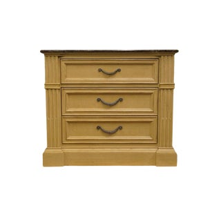20th Century Traditional Stanley Furniture Heritage Collection Blonde Nightstand