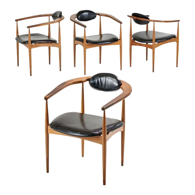 Adrian Pearsall Style 950-C Chairs - Set of 4 - Image 4 of 4