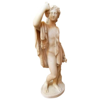 Neoclassical Italian Sculpture of Bacchus For Sale