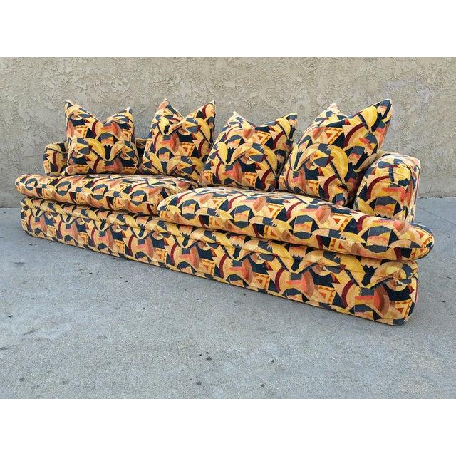 Angelo Donghia Memphis Upholstered Sofa - Image 3 of 8