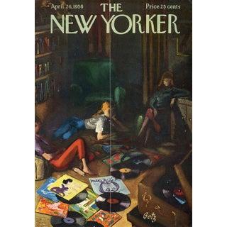 Vintage 1958 New Yorker Cover, April 26 (Arthur Getz), Music For Sale