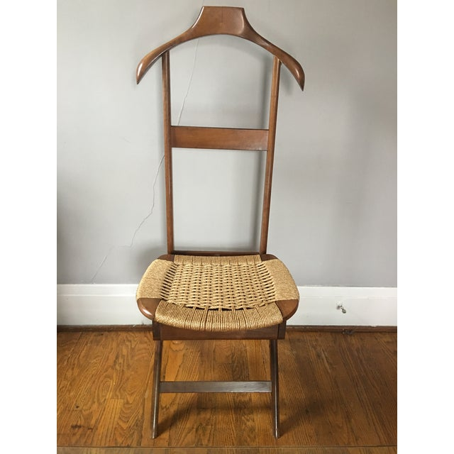 Rope Mid Century Italian Valet Chair For Sale - Image 7 of 7