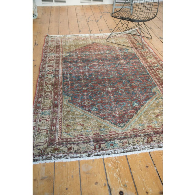 "Antique Malayer Rug - 4'1"" x 6'7"" - Image 10 of 10"