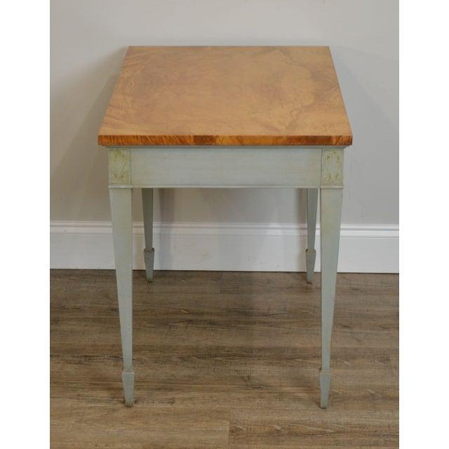 Schmieg & Kotzian Schmieg & Kotzian Adams Hand Painted One Drawer Side Table For Sale - Image 4 of 12