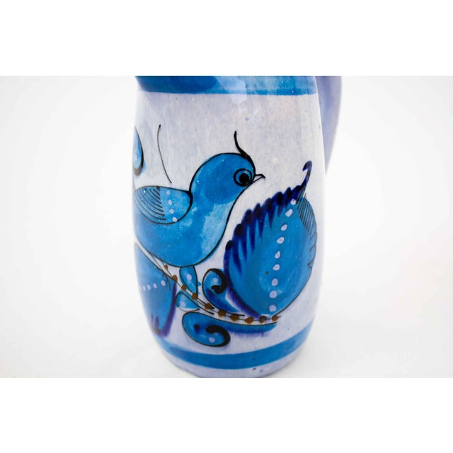 Mexican Vintage Mid-Century Mexican Ceramic Pitcher For Sale - Image 3 of 7