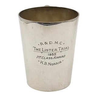 1935 Motorcycle Club Trophy Pint Mug For Sale