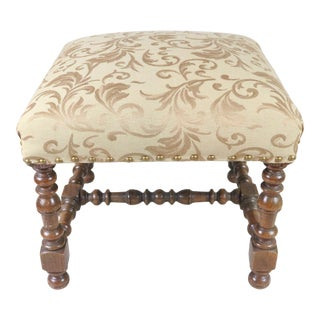 Louis XIII Style Foot Stool For Sale