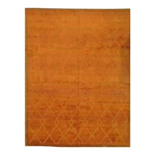 Pasargad Ny Contemporary Tibetan Hand Knotted Rug - 9′2″ × 12′2″ For Sale
