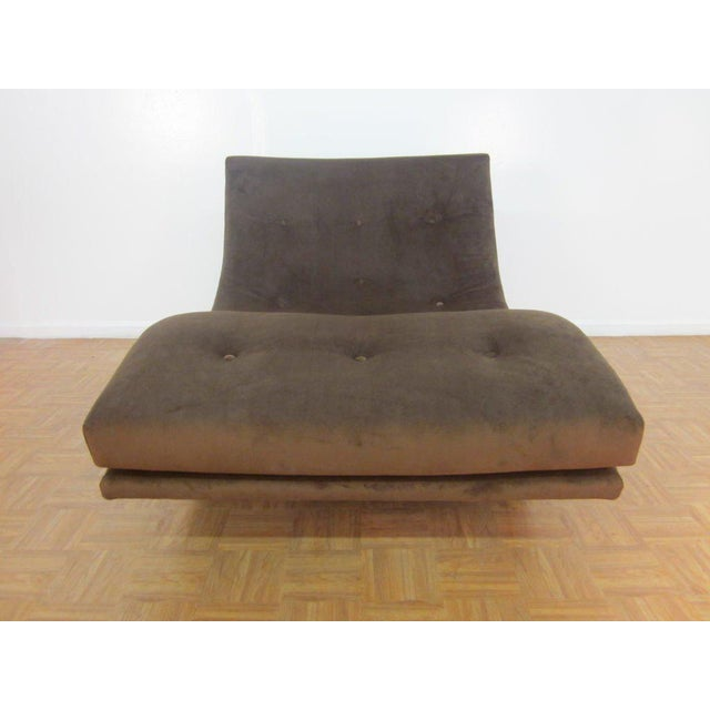 1960s Adrian Pearsall Sculptural Double Wide Rocking Chaise For Sale - Image 5 of 5