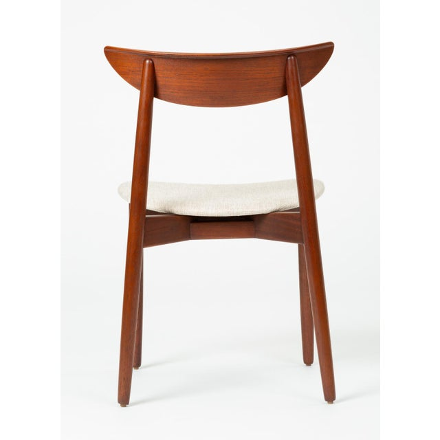 1960s Single Teak Dining / Accent Chair by Harry Østergaard for Randers Møbelfabrik For Sale In Los Angeles - Image 6 of 13