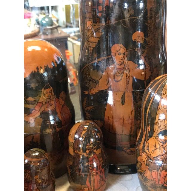 Russian Matryoshka Nesting Dolls