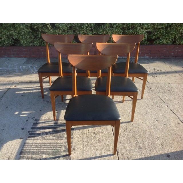 1960's Walnut Dining Set, B.P. Furniture - Image 7 of 7