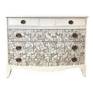 Antique Hepplewhite White Dresser