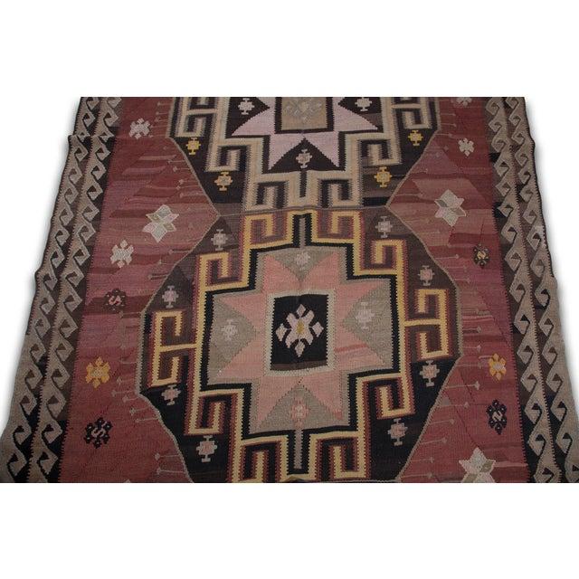Turkish Kilim Handwoven Anatolia Kars Rug