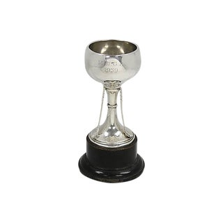 1939 English Sterling Silver Golf Trophy