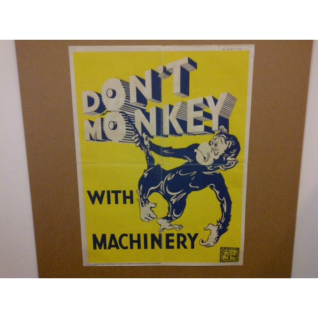 Vintage South African Safety Poster For Sale - Image 7 of 7