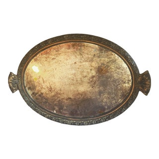 Antique Gothic Mirrored Tray