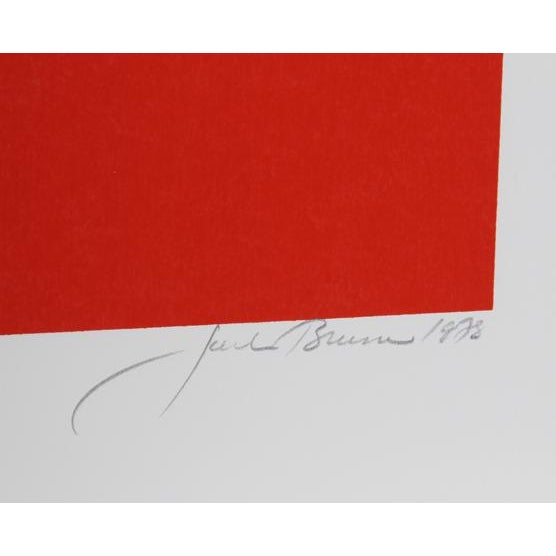 Artist: Jack Brusca, American (1939 - 1993) Title: Symbol Year: 1978 Medium: Serigraph, signed and numbered in pencil...
