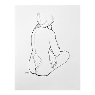 """""""Nexus"""" Contemporary Figurative Drawing For Sale"""