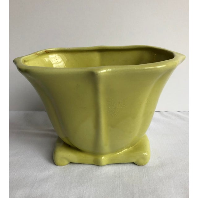 Mid 20th Century Mid 20th Century Green Pottery Collection - Set of 3 For Sale - Image 5 of 12