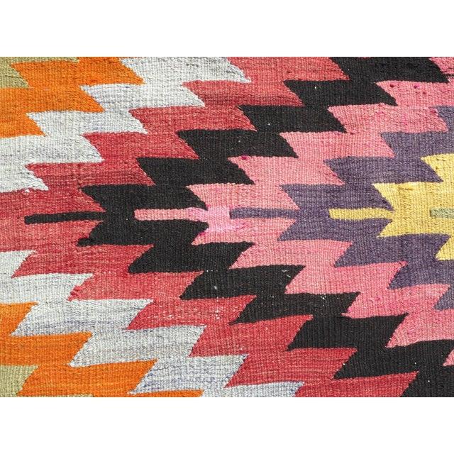 Anatolian Turkish Classic Kilim Rug For Sale - Image 9 of 13