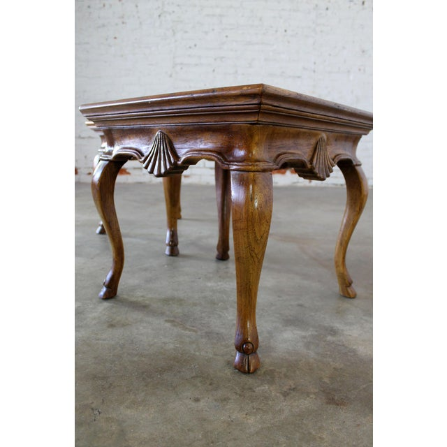 Drexel Heritage Vintage Brittiany for Heritage Hooved Side Tables - a Pair For Sale - Image 4 of 11