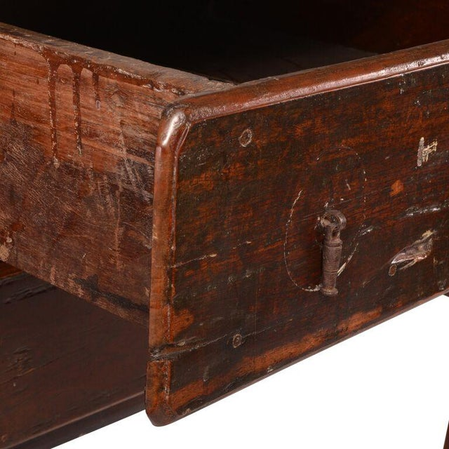 Primitive Antique Brazilian Two-Drawer Chest For Sale - Image 3 of 8