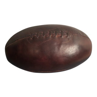 Vintage Decorative Leather Football For Sale