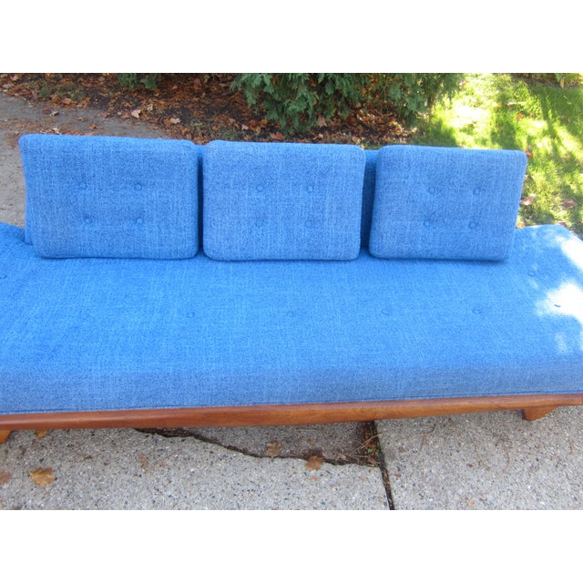 Gorgeous Mid-Century Modern Adrian Pearsall Gondola Couch For Sale In Milwaukee - Image 6 of 7