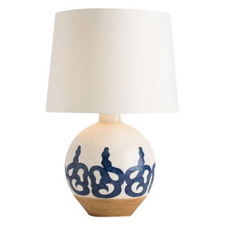 Transitional Ceramic Sphere Rowe Lamp