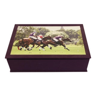 Asprey Polo Jigsaw Puzzle Set Limited Edition