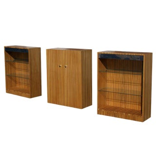 Milo Baughman for Thayer Coggin Cabinet and Shelf Units For Sale