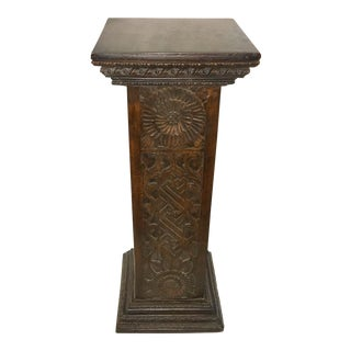 Ornate Fiberglass Pedestal