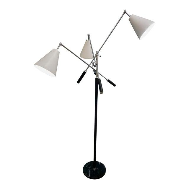1960s Triennale Floor Lamp by Arteluce For Sale
