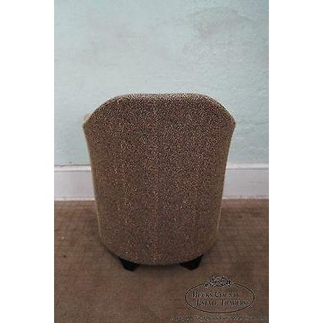 Thomasville Casa Bique Leopard Print Club Lounge Chair For Sale - Image 10 of 13