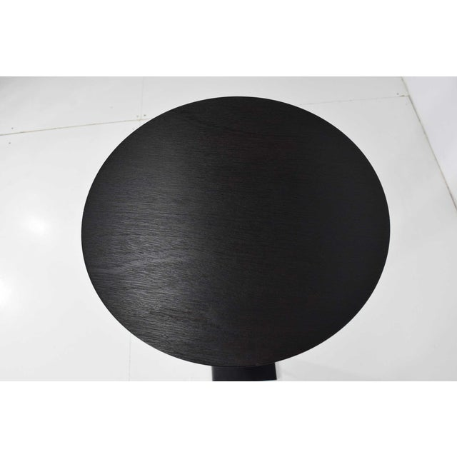 2000 - 2009 Christian Liaigre for Holly Hunt Ebony Oak Pedestal For Sale - Image 5 of 7