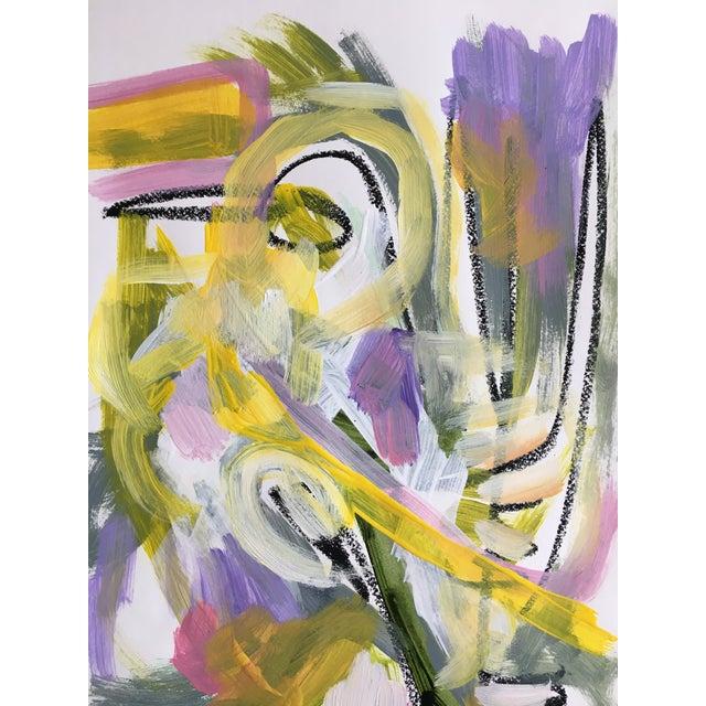 "Jessalin Beutler ""No. 86"" Acrylic Painting - Image 5 of 6"