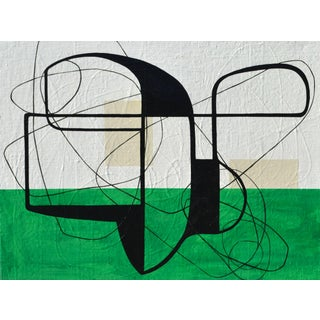 Maura Segal Grasshopper Green Mid Century Modern Style 2016 For Sale