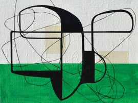 Image of Bright Green Paintings