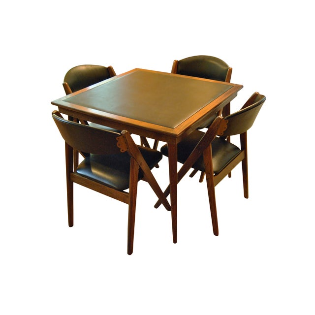 Stakmore Folding Chairs and Game Table - Image 2 of 7