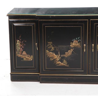 Chinoiserie Style Vintage Credenza Sideboard Preview