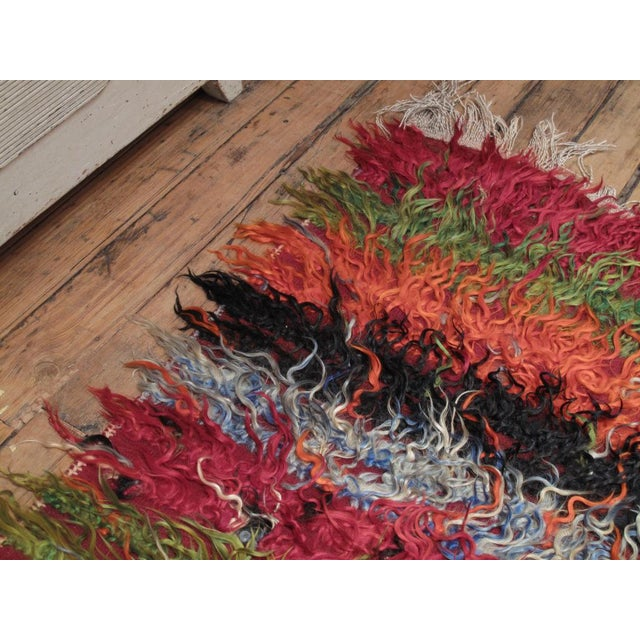 "Angora ""Tulu"" Rug For Sale In New York - Image 6 of 7"